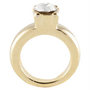 Picture of Gold Wedding Ring Charm