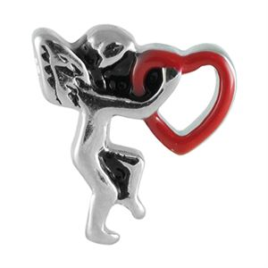 Picture of Cupid Heart Charm