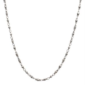 Picture of Nickel-Free Silver Multifaceted Link Chain - 28""