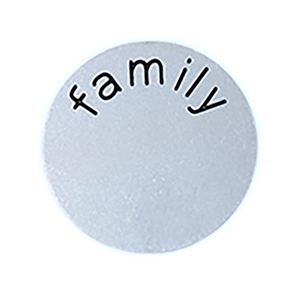 Picture of 'Family' Medium Silver Coin