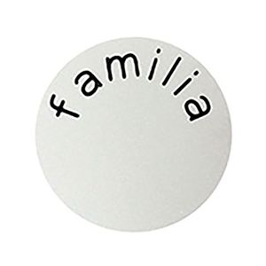 Picture of 'Familia' Medium Silver Coin