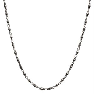 Picture of Graphite Multifaceted Link Chain - 28""