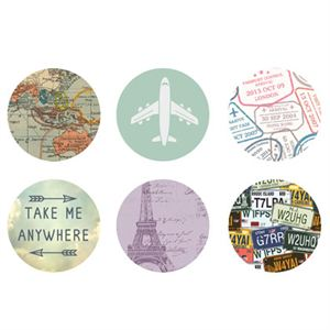 Picture of Travel Medium Locket Backdrops