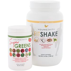 Picture of Youngevity Super Greens & FitShake Combo