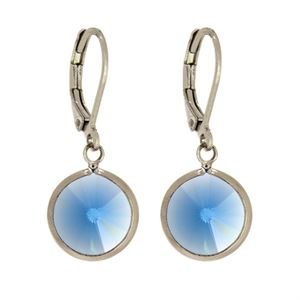 Picture of Sapphire Channel Earrings